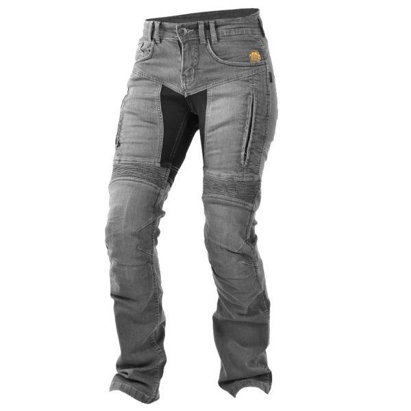 Trilobite 661 Parado Damen Jeans TÜV CE , Farbe: grau