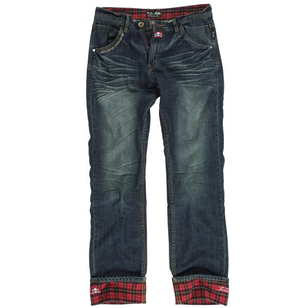 Rusty Pistons Jeans Winslow Red Herren
