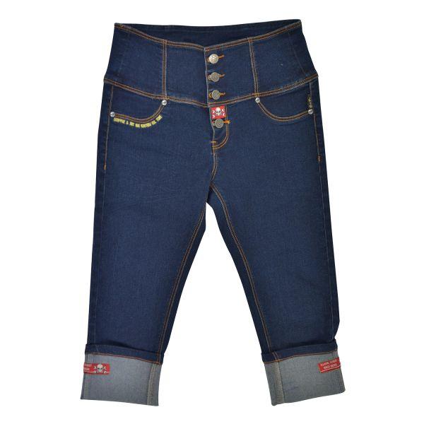 Rusty Pistons Jeans Bethany Capri Damen