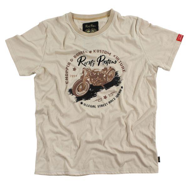Rusty Pistons T-Shirt Laurel (Beige) Herren