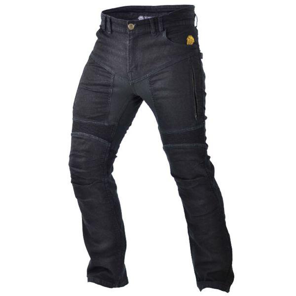 Trilobite 661 Parado TÜV/CE Herren Jeans, Farbe: schwarz