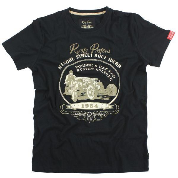 Rusty Pistons T-Shirt Warren (Black) Herren