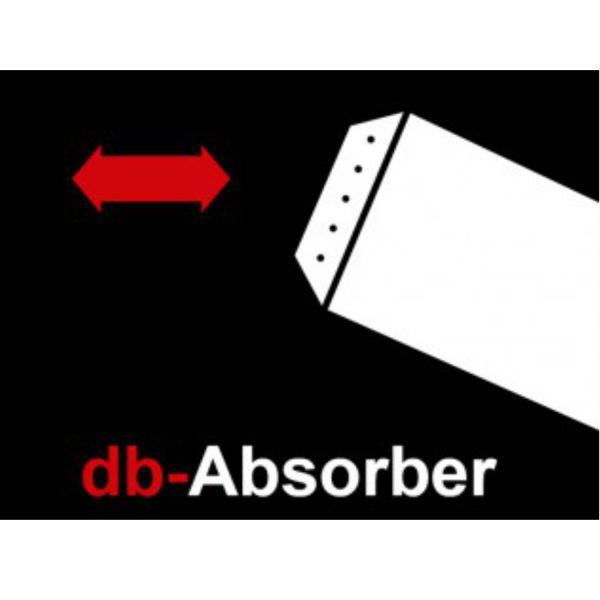 Miller Db-Absorber - EG/BE Schalldämpfer zu EVO-Sy zu Endschalldämpfer EVO 1-4 / mit Zulassung