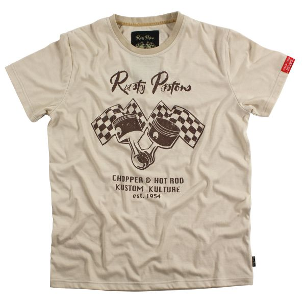 Rusty Pistons T-Shirt Dexter (Beige) Herren