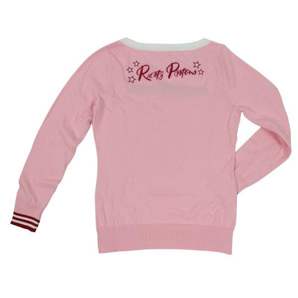Rusty Pistons Sweatshirt Minneola Pink Damen