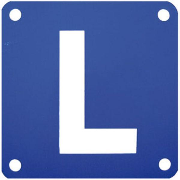 L-Schild ALU