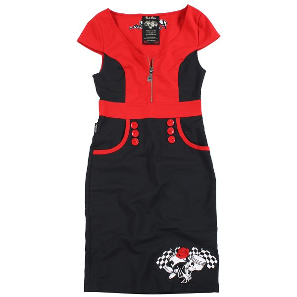 Rusty Pistons Kleid Eden Damen