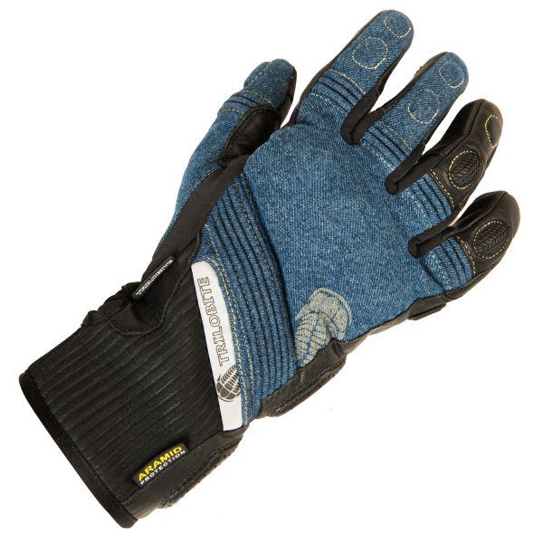 Trilobite 1840 Parado Herren Handschuhe, Farbe: blau