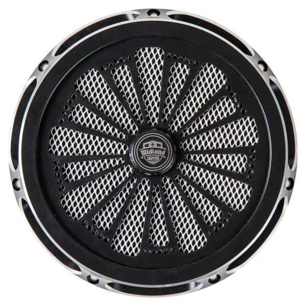 Midland Design Luftfilter Kaos chrome & schwarz