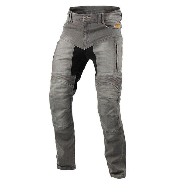Trilobite 661 Parado TÜV CE Herren Jeans, Farbe: hellgrau