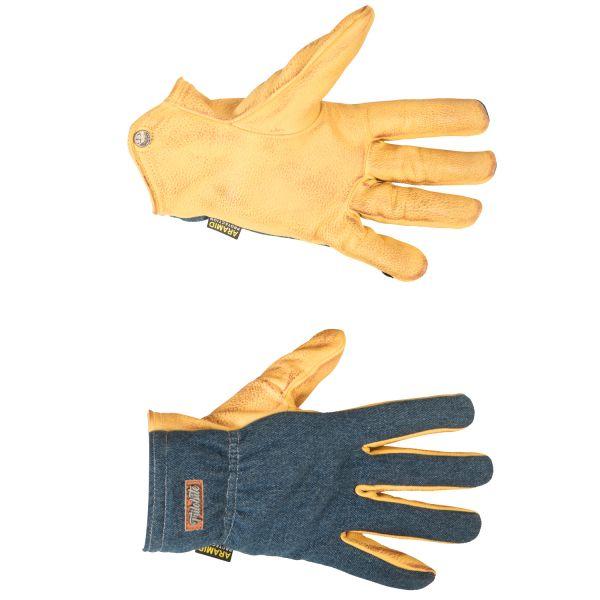 Trilobite 1842 Piloter Handschuhe, Farbe: gelb
