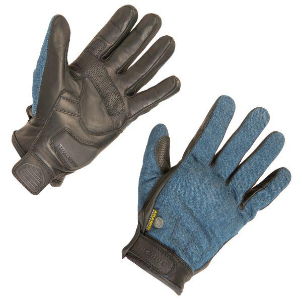 Trilobite 1841 Rally Herren Handschuhe, Farbe: blau/schwarz