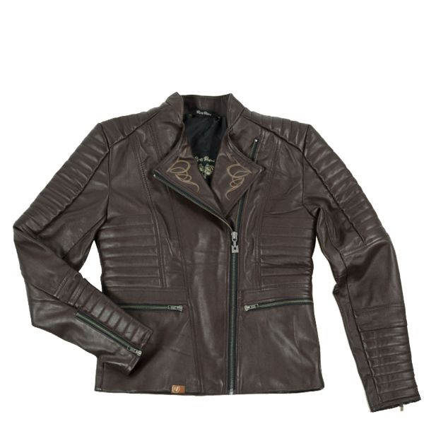 Rusty Pistons Jacke Livonia brown Damen