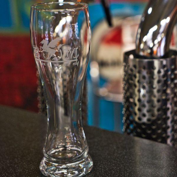 BOOM-Trikes Weizenbier-Glas
