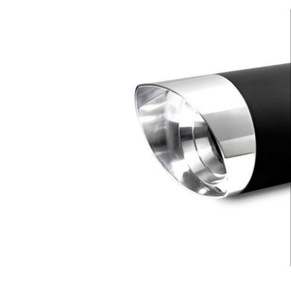 Miller Enkappe Slash Cut Durchmesser 102mm Endkappe schwarz/matt
