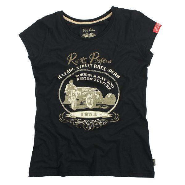 T-Shirt Corona blk Damen