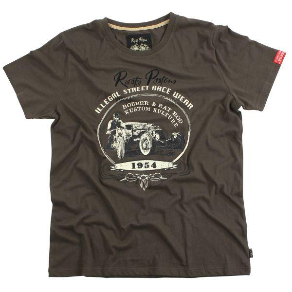 Rusty Pistons T-Shirt Warren (Khaki) Herren