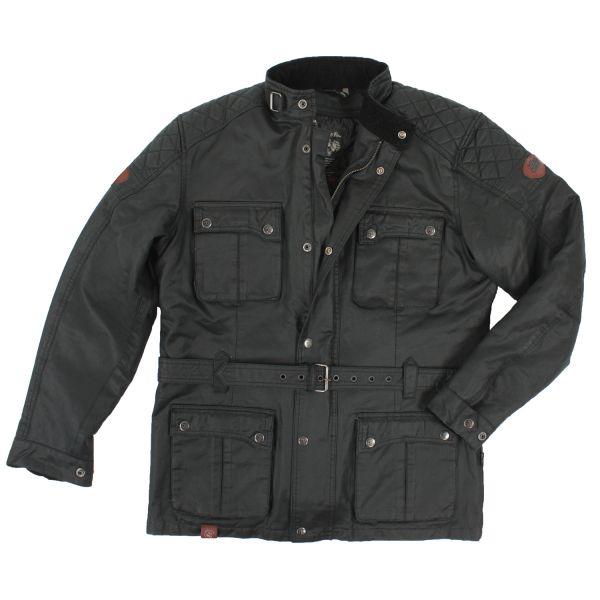 Rusty Pistons Textiljacke Leadore wax parka Herren