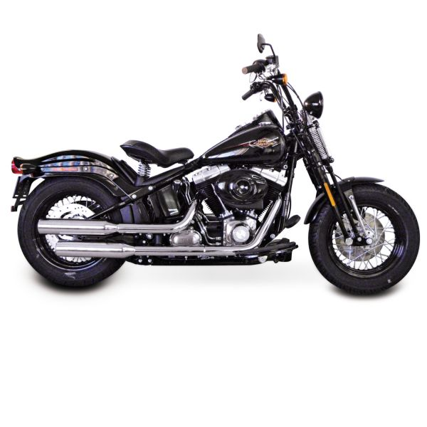 Miller HUNTER II für FLS Softail Slim 103cui