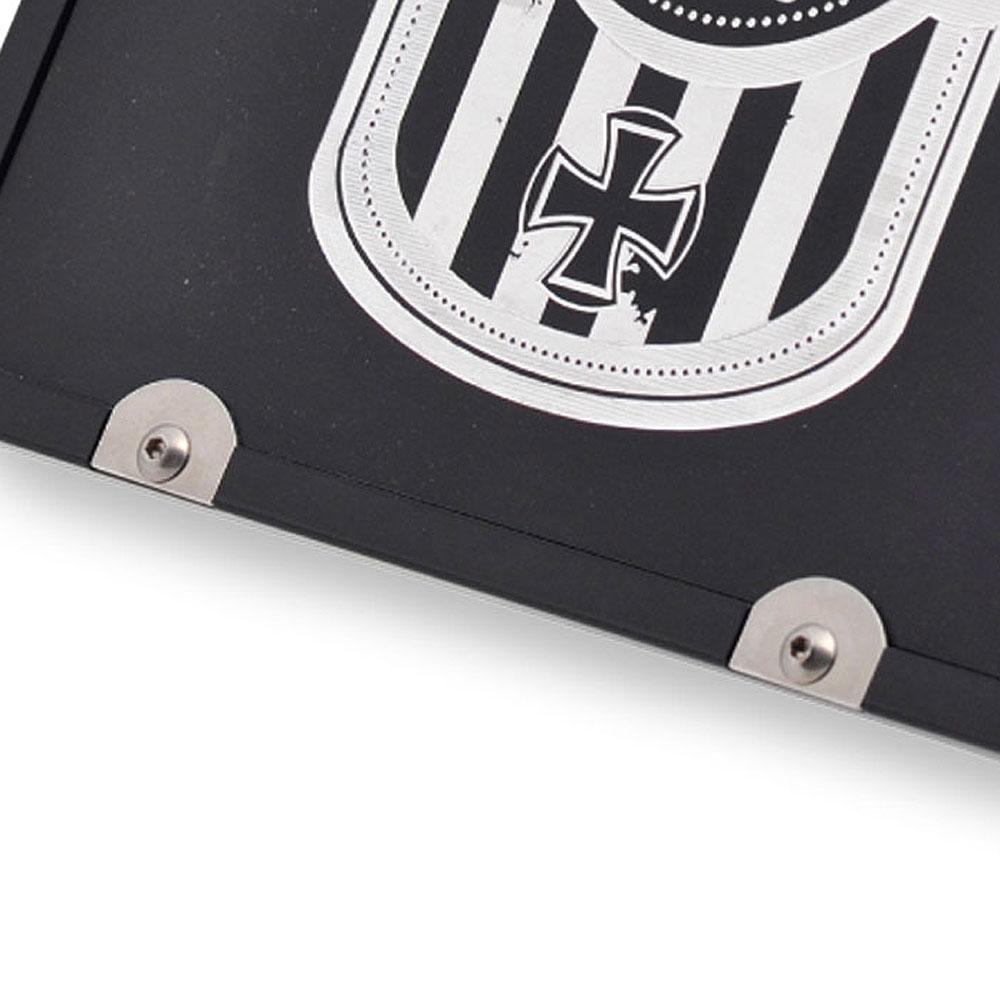 hkc kennzeichenplatte reparatur kit haltepl ttchen set. Black Bedroom Furniture Sets. Home Design Ideas